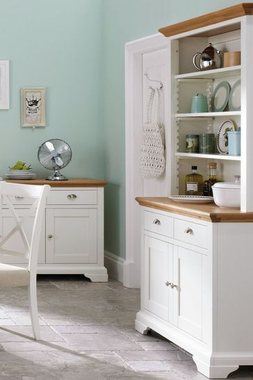 Hampstead Two Tone Dresser by Bentley Designs