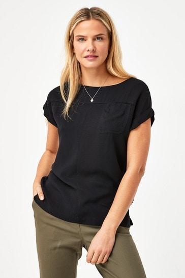Black Boxy T-Shirt