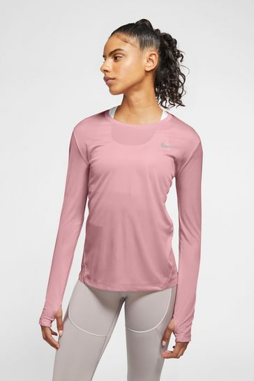 Nike Miler Long Sleeve Running T-Shirt