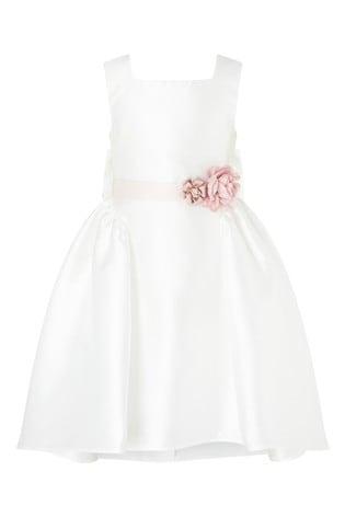 Monsoon Cynthia Corsage Belt Dress