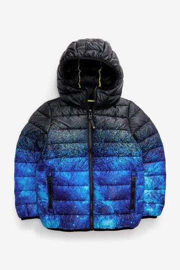 Cobalt Blue Puffer Jacket (3-16yrs)