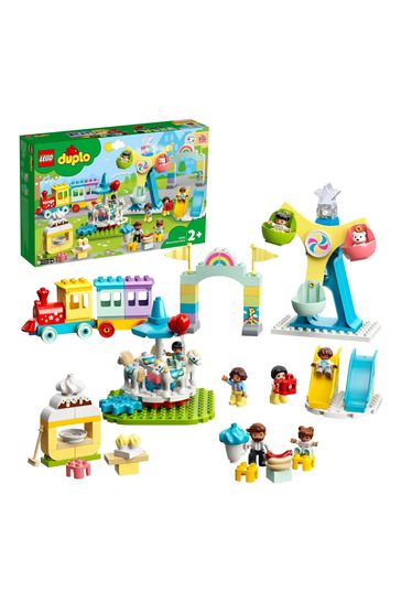 LEGO 10956 DUPLO Town Amusement Park Toy for Toddlers