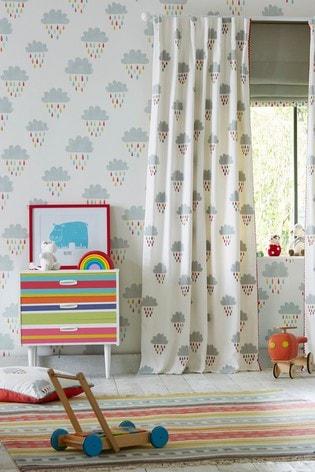 Scion Grey April Showers Wallpaper