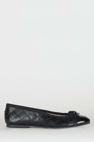 Barbour® Quilted Leather Bella Pumps