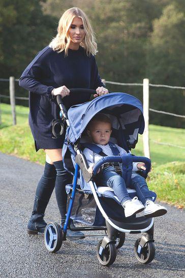 Billie Faiers Blue Stripes Pushchair by My Babiie