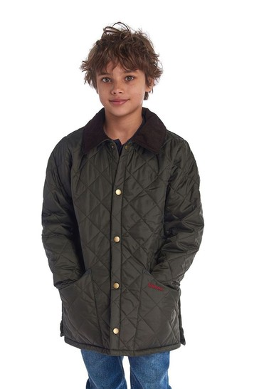 Barbour Boys Quilted Liddesdale Jacket