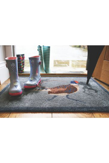 My Mat Pheasant Washable And Recycled Non Slip Doormat