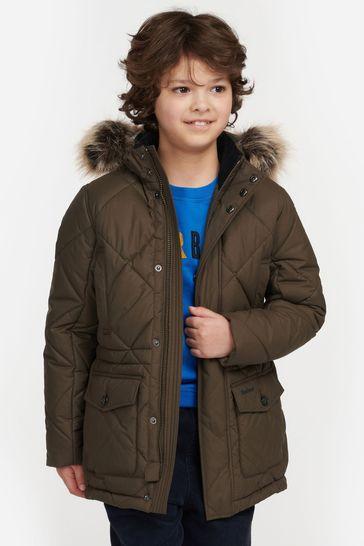 Barbour® Boys Holburn Quilted Jacket