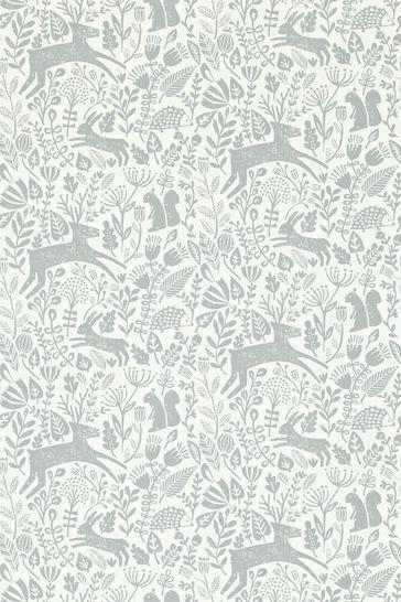 Scion Pewter Kelda Wallpaper