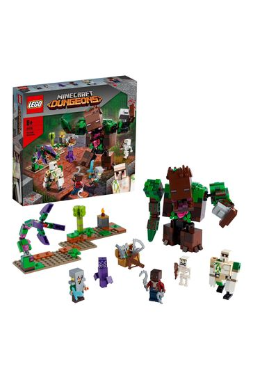 LEGO 21176 Minecraft The Jungle Abomination Dungeons Toy Set