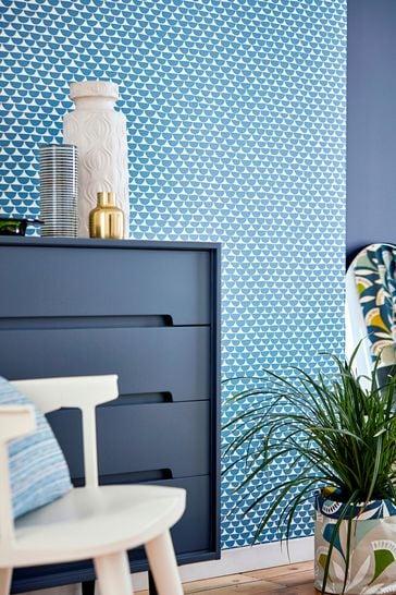 Scion Blue Kielo Wallpaper