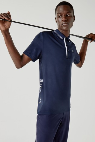 Lacoste® Golf Tipped Polo