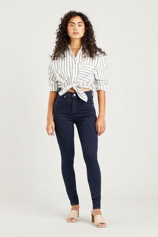 Levi's® Dark Wash Mile High Super Skinny Jeans