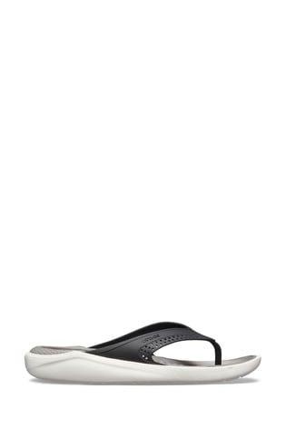 Crocs™ Black LiteRide Flip Flops