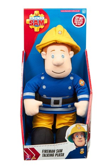 Fireman Sam Talking Soft Toy