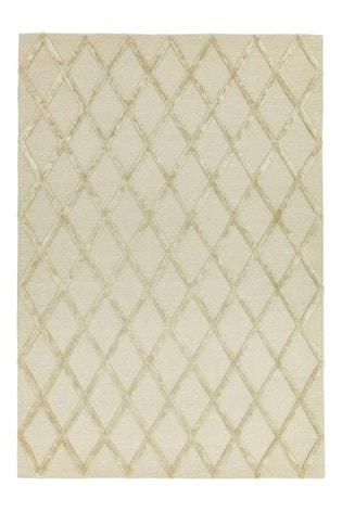 Asiatic Rugs Gold Dixon Textured Geo Rug