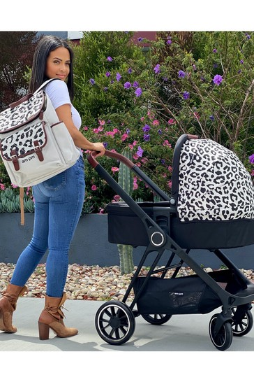 AM to PM by Christina Milian Leopard Victoria Travel System by My Babiie