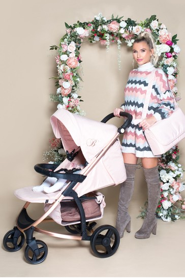 Billie Faiers Rose Gold and Blush Pushchair by My Babiie