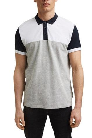 Esprit White Men's Polo Shirt