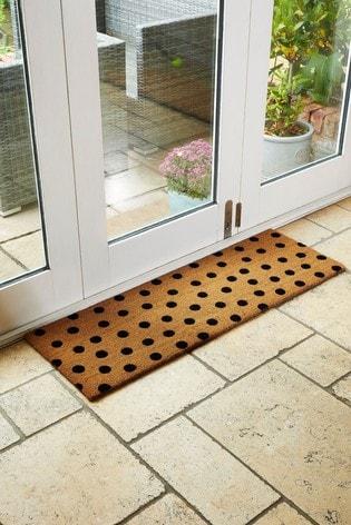 Mud Stopper Extra Wide Dotty Doormat