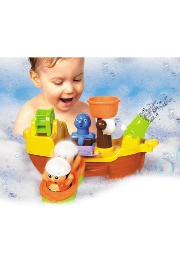 TOMY Toomies Bath Pirate Ship