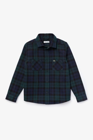 Lacoste® Kids Oxford Long Sleeve Shirt