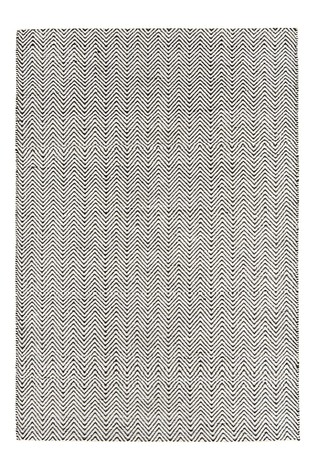 Asiatic Rugs Black Ives Jute And Chenille Rug