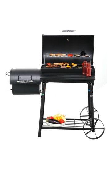 Biloxi Offset BBQ Pit Barrel Smoker By Tepro