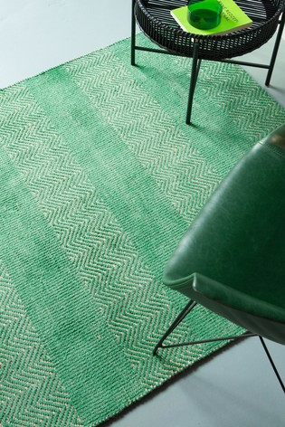 Asiatic Rugs Green Ives Jute And Chenille Rug