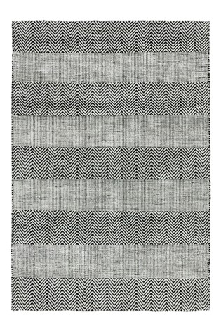 Asiatic Rugs Grey Ives Jute And Chenille Rug
