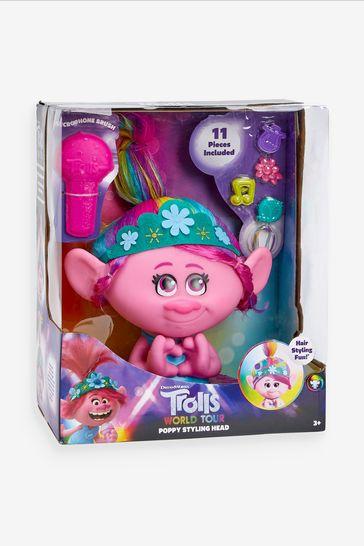DreamWorks Trolls World Tour Poppy Styling Head