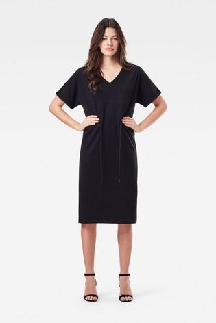 G-Star Adjustable Waist Dress