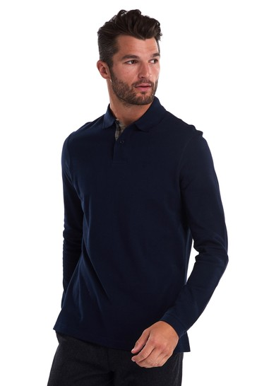 Barbour Long Sleeve Polo