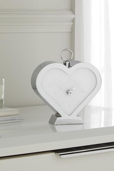 Heart Mantle Clock