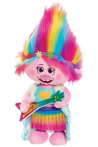 DreamWorks Trolls World Tour Dancing Feature Poppy Soft Toy