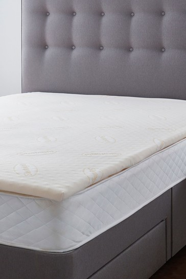 Silentnight 5cm Orthopaedic Mattress Topper With Cover