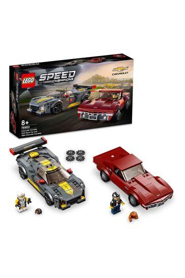 LEGO 76903 Speed Champions Chevrolet Corvette 2 Models Set