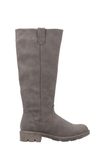 Divaz Green Quinn Knee High Boots