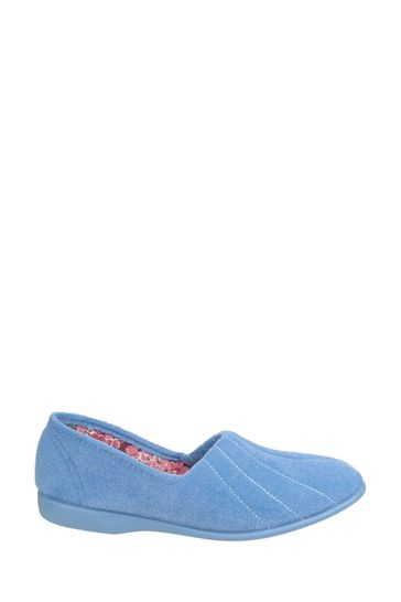 GBS Blue Audrey Slippers