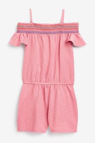 Benetton Over The Shoulder Playsuit