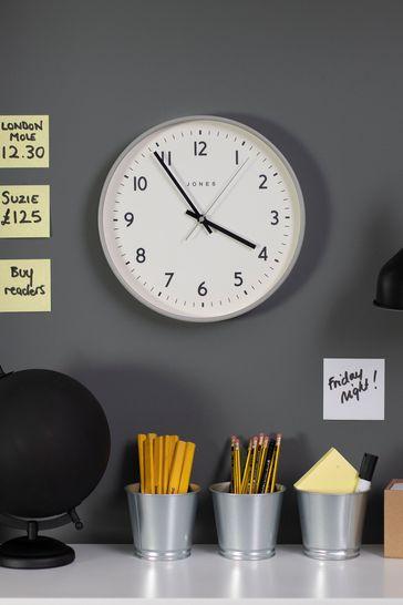 Jones Clocks Jam Elephant Grey Wall Clock