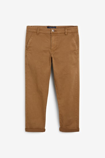 Ginger Tapered Loose Fit Chino Trousers (3-16yrs)