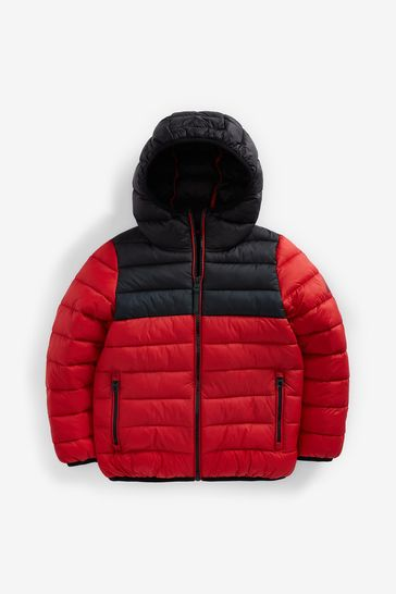 Red Puffer Jacket (3-16yrs)