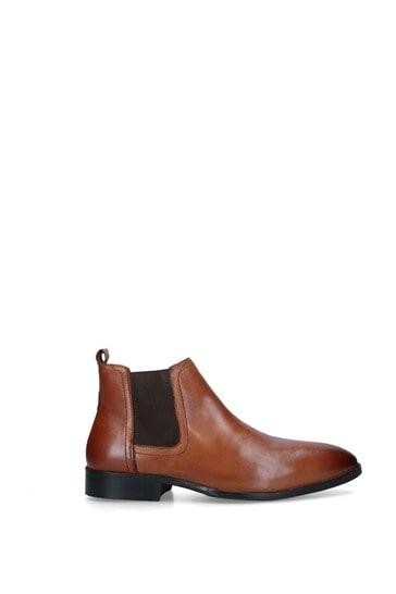 Kurt Geiger London Natural Flixton Boots