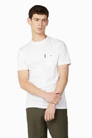 Ben Sherman White Signature Pocket T-Shirt