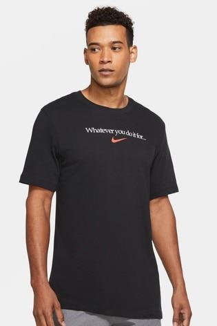 Nike Dri-Fit Slogan Training T-Shirt