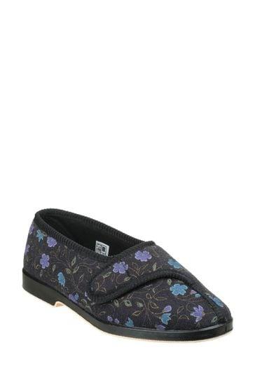 GBS Black Wilma Slippers