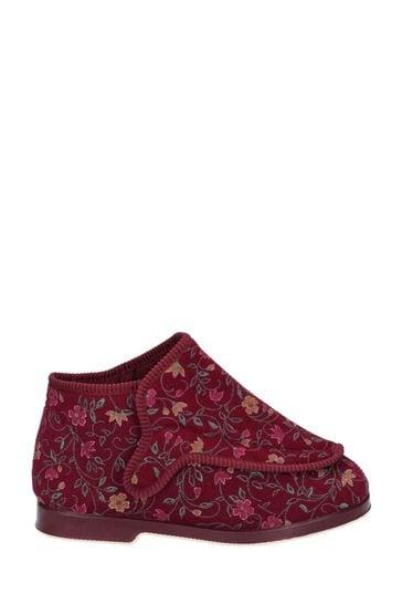 GBS Red Rhona Slippers