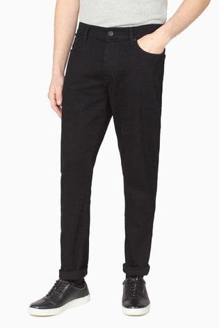 Ben Sherman Straight Black Wash Jeans