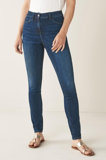 Dark Blue Hourglass Skinny Jeans